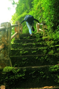 Jalan menuju Jembatan