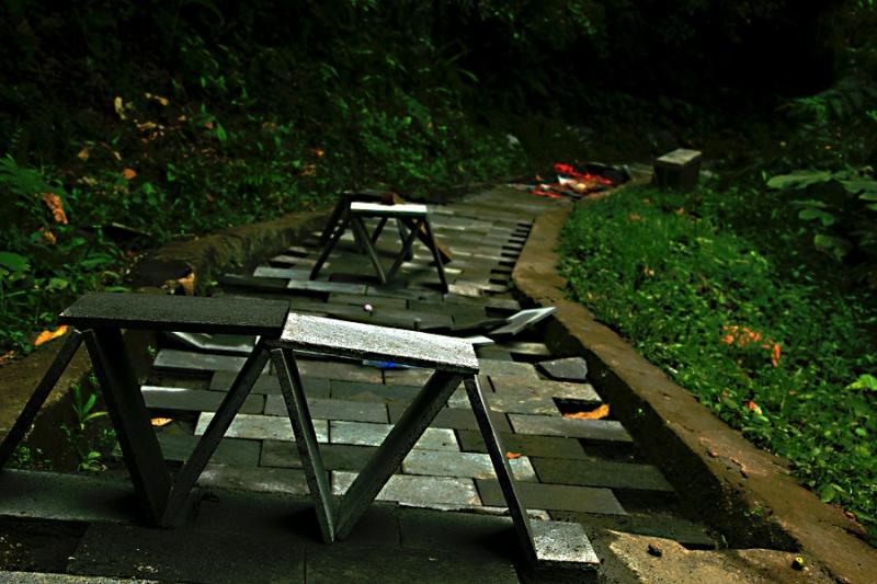 Jalan II sedang diperbaiki