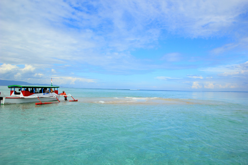Rombongan Langsung Cabut menuju Pulau Tani alias Gili Bidara