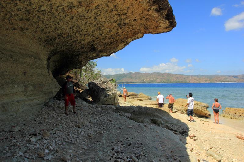 Batu Payung di Gili Nanggu
