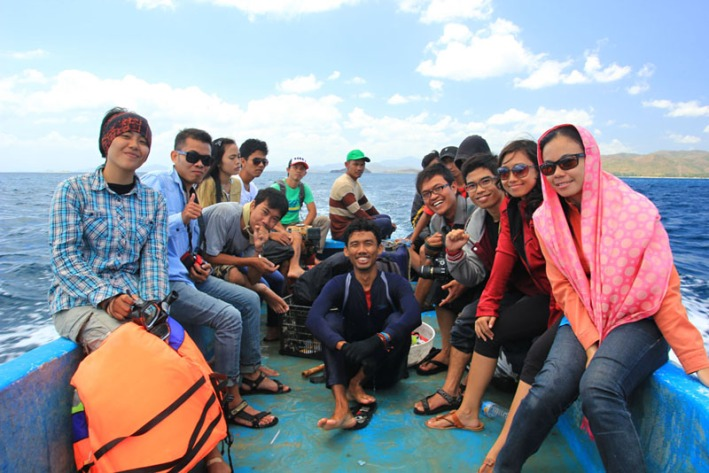 Rombongan Backpacker Lombok