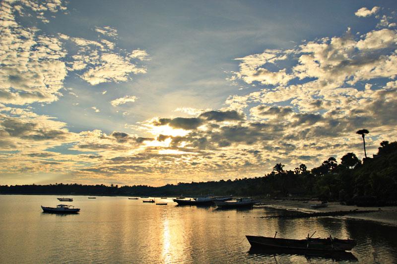 Panorama Lasiana di Waktu pagi
