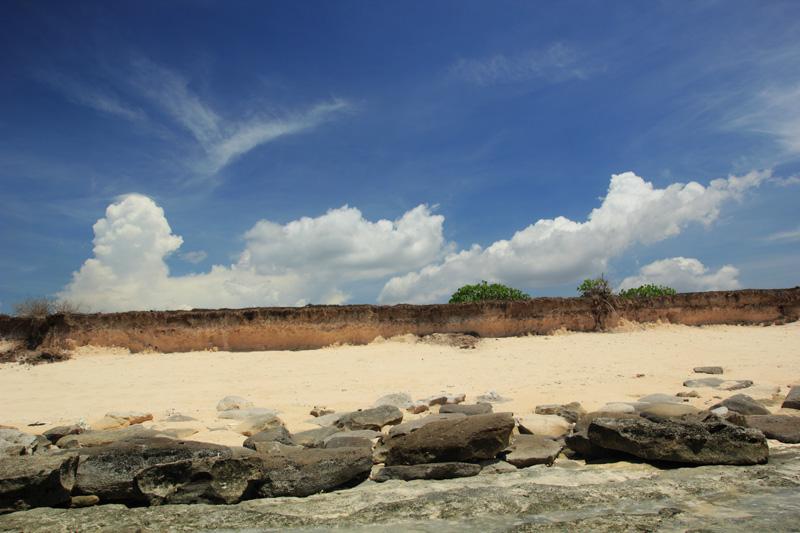 Pasir terperangkap