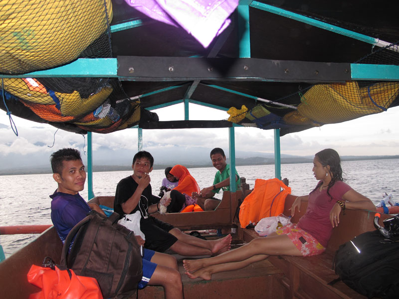 On the way to Lombok Island