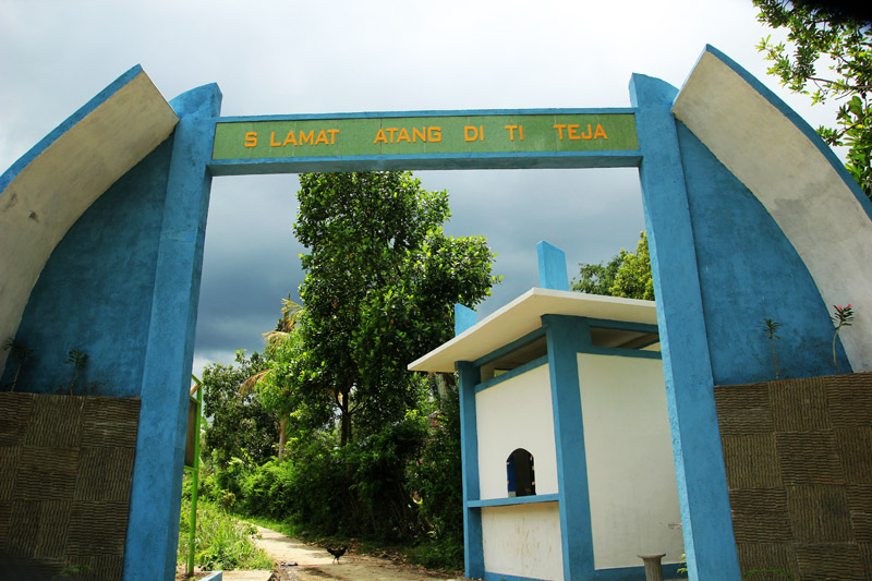 Pintu Gerbang ke Tiu Teja
