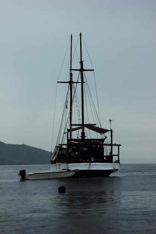 kapal pesiar dari depan