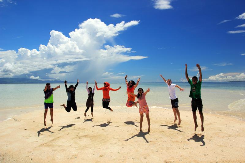 Mari Jump-shoot di Gili Kapal