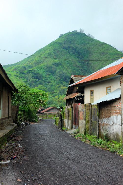 Gunung Selong dari Kampung Sembalun