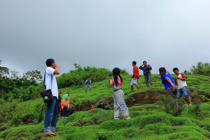Puncak Gunung Selong