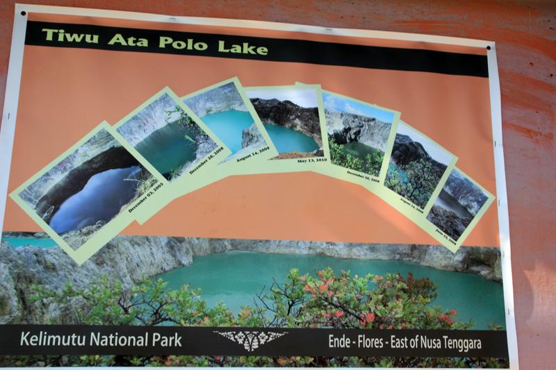 Siklus Perubahan Warna pada Danau Tiwu Ata Polo