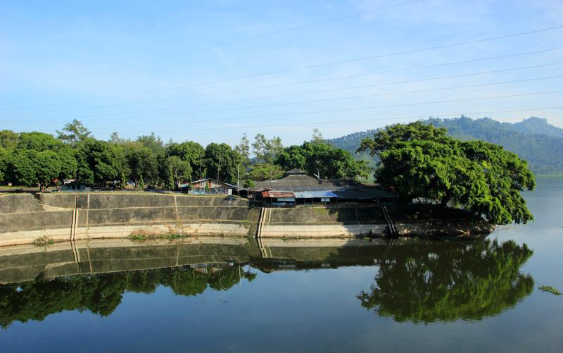 salah Sudut waduk Selorejo