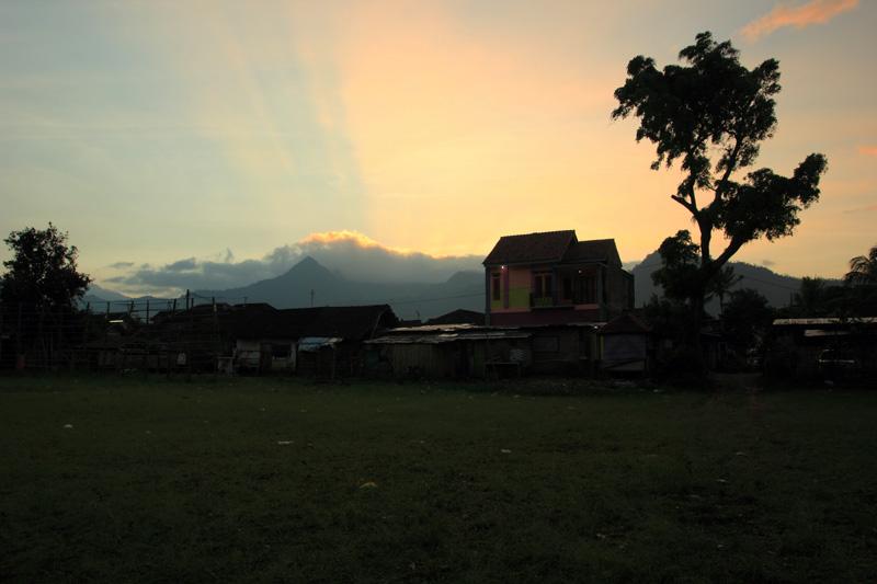 Sunrise di sudut Ngantang
