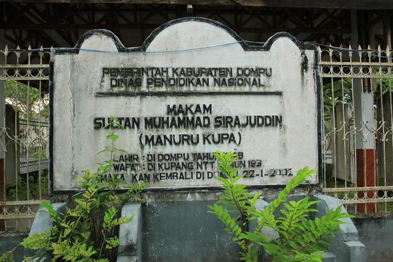 Makam Sultan Muhammad Sirajuddin, raja kedua terakhir yang diasingkan ke Kupang, NTT