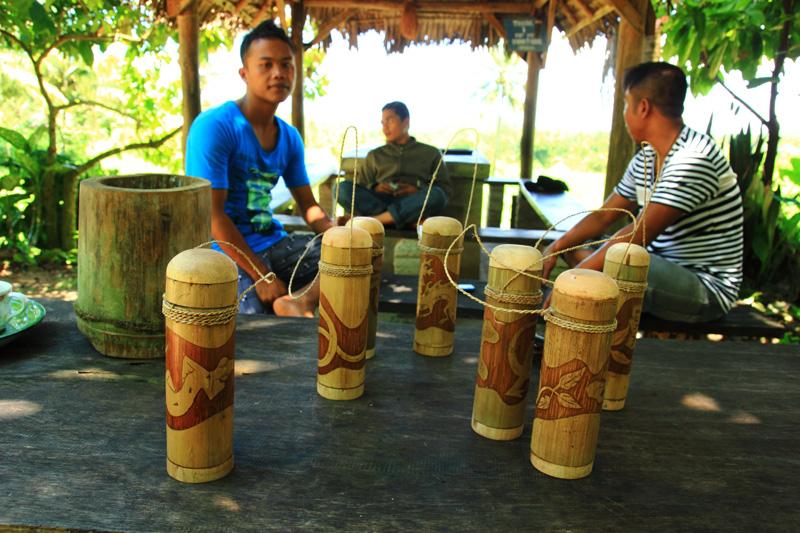 Wadah Kopi khas Desa Kerta Gangga