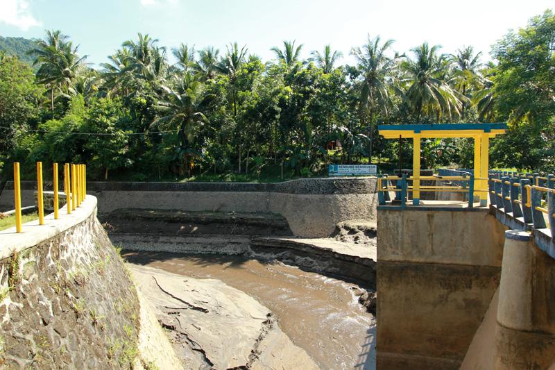 Muara Air Terjun Tiu Pupus, Bendungan Sengkukun