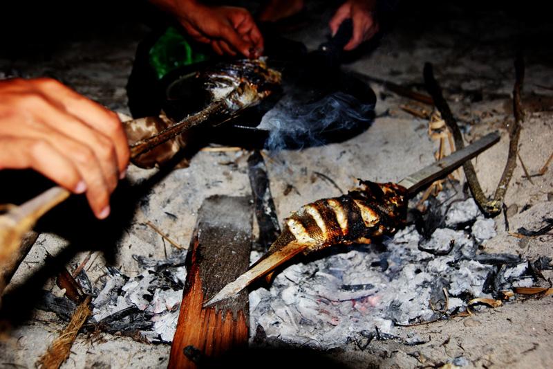 Bakar-bakar Ikan