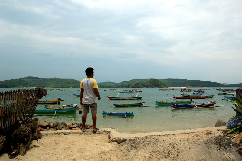 Kampung Nelayan Gerupuk