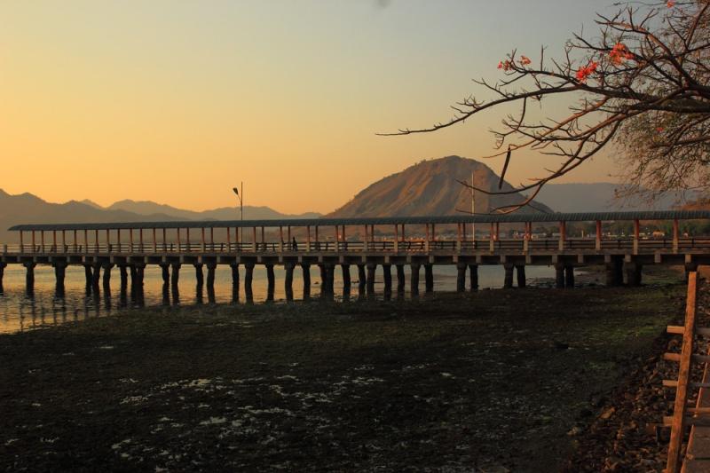 Jembatan Pelabuhan Poto Tano