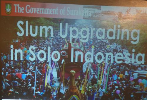 Pemaparan Jokowi saat menjadi walikota Solo